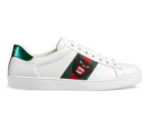 Low-Top-Ace-Sneaker mit Stickerei
