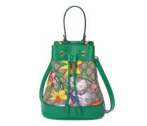 Exklusiv online* Kleine Ophidia GG Bucket Bag mit Flora-Print