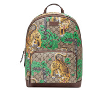 Rucksack aus GG Supreme mit Gucci Bengal-Print
