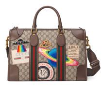 Gucci Courrier Reisetasche aus weichem GG Supreme