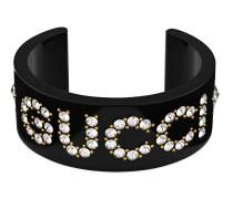 Gucci Armspange mit Kristallen