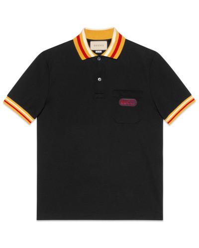 Poloshirt mit GucciPatch