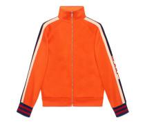 Jacke aus technischem Jersey