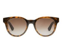 Sonnenbrille mit ovalen Rahmen