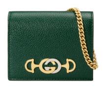 Gucci Zumi Kartenetui aus genarbtem Leder