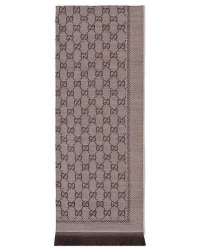 Schal aus GG Wolljacquard