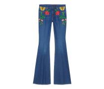 Jeanshose exklusivem Gucci Garden