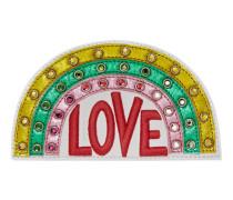 Ace Regenbogen-Stickerei