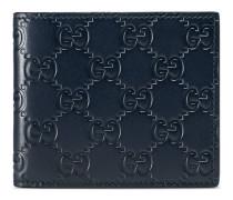 Brieftasche mit Leder Gucci Signature