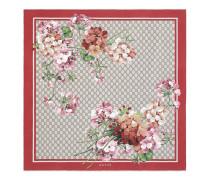 Halstuch aus Seide mit Bloomsdruck