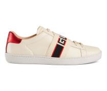 AceSneaker mit GucciStreifen