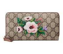 Exklusive Brieftasche mit Reißverschluss aus GG Supreme