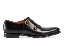 Monk-Schuh aus Leder