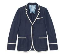 Monaco Jacke aus Baumwollleinen