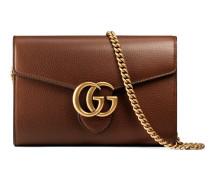Brieftasche GG Marmont aus Leder mit Kette