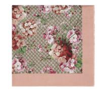 GG Schal aus Modal und Seide mit unserem Blooms-Druck.