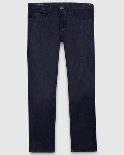 gucci herren dunkelblaue five pocket jeans mit tiefer. Black Bedroom Furniture Sets. Home Design Ideas