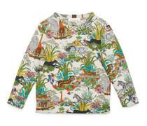 Kinder Pullover mit Savannen-Print