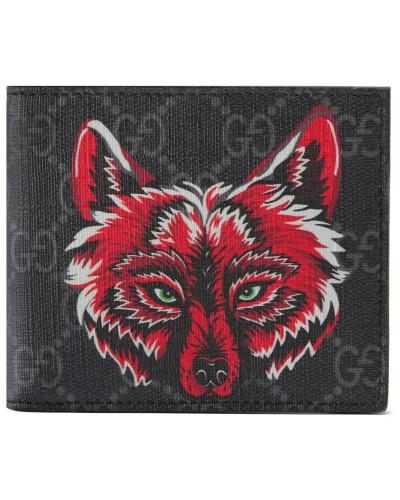 GG Supreme Brieftasche mit Wolf