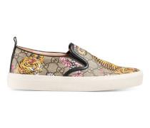 Slip-on-Sneaker mit Gucci Bengal-Print
