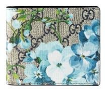 Brieftasche mit GG und Blumen