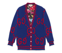 GucciGhost Cardigan aus Wolle