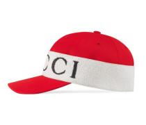 Baseballkappe mit Gucci Kopfband