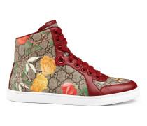 Hoher Sneaker aus Gucci Tian