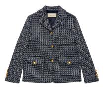 Jacke aus Wolle mit Square G