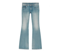 Hose aus gewaschenem Stretchjeans