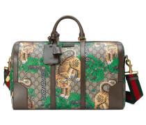 Reisetasche aus GG Supreme mit Gucci Bengal-Print