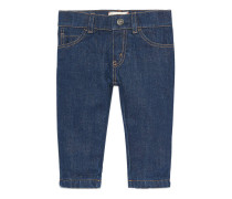 Gerade geschnittene Baby Jeans