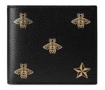 Bee Star Portemonnaie aus Leder