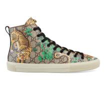 Hoher Sneaker mit Gucci Bengal-Motiv
