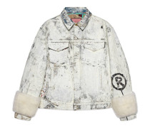 Jacke GucciGhost aus Jeans