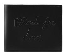 Brieftasche mit Blind for Love-Prägung