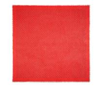 Schal aus Modal und Seidensablé mit GucciGhost-Motiv