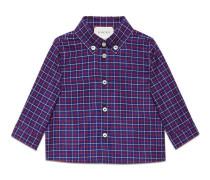 Baby Hemd mit doppeltem Netzmuster