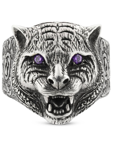 Gucci Garden Ring mit Felinekopf