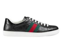 Low-Top-Sneaker Ace aus Gucci Signature