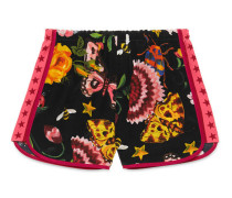 Shorts mit exklusivem Gucci Garden-Print