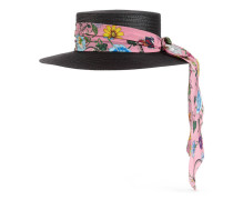 Papier-Hut mit Flora-Band