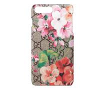 iPhone 7 Plus-Etui mit GG und Blumen