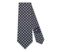Krawatte aus Seide mit Bienen-Motiv
