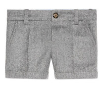 Baby Shorts aus Wollflanell