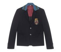 Cambridge Jacke aus Baumwolle mit Wappen