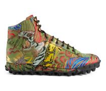 Sneaker aus Tiger-Jacquard