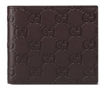 Portemonnaie mit Leder Gucci Signature