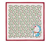 Doraemon x Halstuch aus Seide