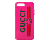 iPhone 7 Plus-Etui mit Gucci Print